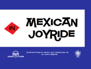 Mexican Joyride (The Fox and the Crow) Title Card