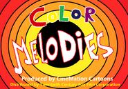 Color Melodies Cartoon Logo 1937-1938