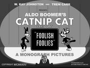 Foolish Foolies (1935) title card 1