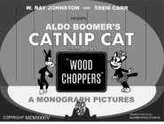 Wood Choppers (1934) title card 1