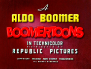 Boomertoons Cartoon Logo (1941)
