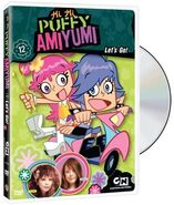 Hi Hi Puffy Ami Yumi Let's Go DVD