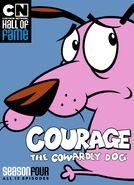 Courage the Cowardly Dog Season Four DVD