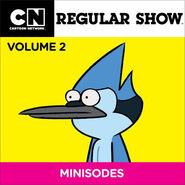 Regular Show Minisodes Volume 2 Cover