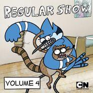Regular Show iTunes Volume 4 Cover