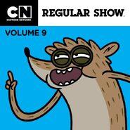 Regular Show iTunes Volume 9 Cover