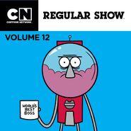 Regular Show iTunes Volume 12 Cover