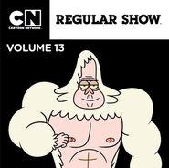 Regular Show iTunes Volume 13 Cover