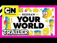 "Cartoon Network - 2021 Rebrand - ""Redraw Your World"" trailer"