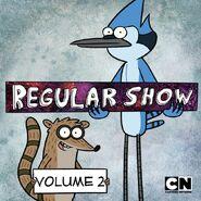 Regular Show iTunes Volume 2 Cover