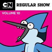 Regular Show iTunes Volume 10 Cover