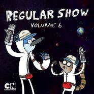 Regular Show iTunes Volume 6 Cover