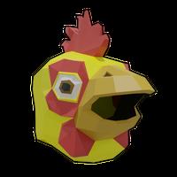 Chicken Man Yellow Helmet .png