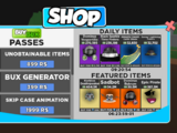 Featured Items Shop