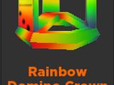 Rainbow Domino Crown