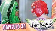 Casi Angeles Temporada 3 Capitulo 34 CHOCOLATES, UN HOGAR A LEÑA Y UNA CANCIÓN DE AMOR