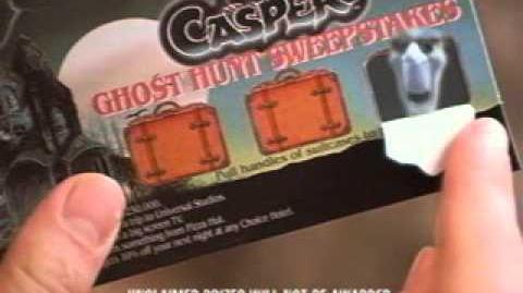 Casper Film Commercial tie-in . . .