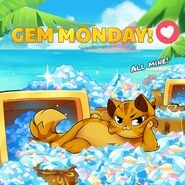 Francis Gem Monday
