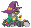 Morrigan castle cats by maryanna16-dbxawp6