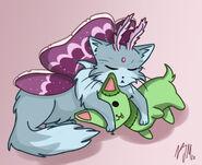 Stitch and Lumoz