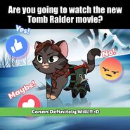 Conan Tomb Raider