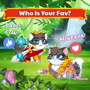 Basil vs Minerva Official Image