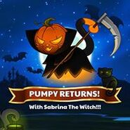 Pumpy returns