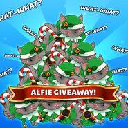 Alfie Giveaway