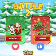 Cocoa vs Holly 2020
