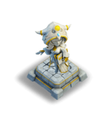 Decorative Frost Witch