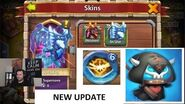 Castle Clash New Update Lavanica Skin New Talent Destiny