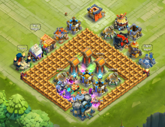 Base Designs Castle Clash Wiki Fandom