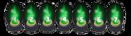 Green garrison levels