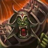 Hero orc king boss