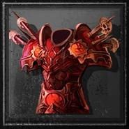 Eq draculia armor the scarlert master