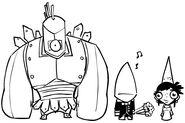 37710 danpaladin castle-crasher-cyclops-n-groom