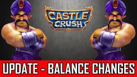 CASTLE CRUSH UPDATE !!! BALANCEÄNDERUNGEN !!! Kommt das Rushdeck zurück?!?