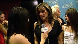 Nancy Lee Grahn, daughter, & Judalina 37th Daytime Emmy's Creative Arts & Entertainment Red Carpet.jpg