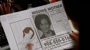 Adora's murder in Crow drawings VS Elizabeth McGinty's missing person's flyer