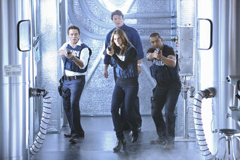 castle episode where they bet on the case
