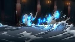 Vampires slain by the flood