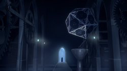 Castle's teleportation room