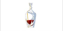 Blood decanter model