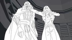 Castlevania Season 2 Episode 7 Rough Animation