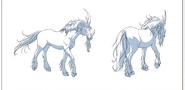 Isaac's Night Creature Horse Model