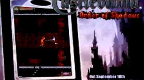Castlevania Order of Shadows Trailer