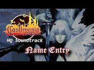 Castlevania- Aria of Sorrow - Name Entry (High Quality)