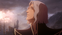 Hector looks to the sun