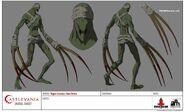 Mad Driver (Evil Stabber or Assassin Zombie) Model Sheet
