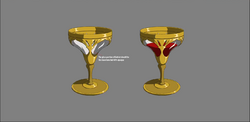 Blood goblet color model